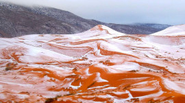 Snow Desert Photo Download