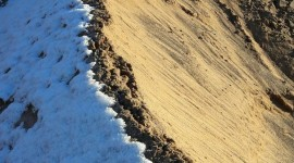 Snow Desert Wallpaper For IPhone