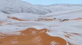 Snow Desert Wallpaper Free