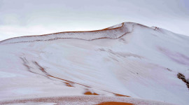 Snow Desert Wallpaper Full HD