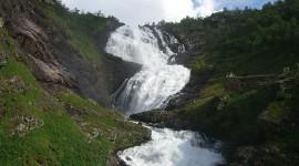 Surla Waterfall High Quality Wallpaper