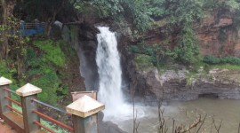 Surla Waterfall Wallpaper