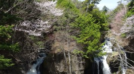 Surla Waterfall Wallpaper For IPhone