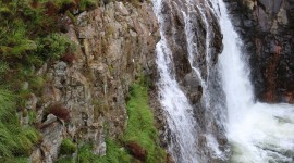 Surla Waterfall Wallpaper For IPhone 6