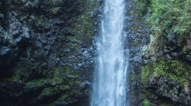 Surla Waterfall Wallpaper For IPhone Download