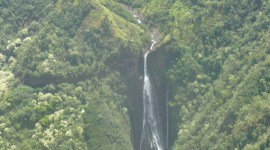 Surla Waterfall Wallpaper For IPhone Free