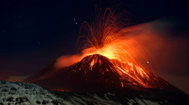 4K Eruption Of Volcano Image Download