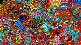 4K Trippy Picture Download