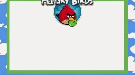 Angry Birds Frame Wallpaper Free