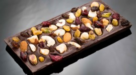 Chocolate With Nuts Wallpaper High Definition