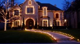 Christmas Lights Desktop Wallpaper HD
