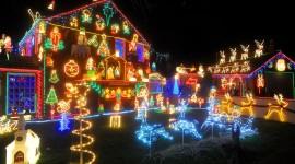 Christmas Lights High Quality Wallpaper