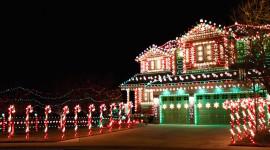 Christmas Lights Wallpaper Download Free