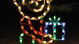 Christmas Lights Wallpaper For IPhone Free