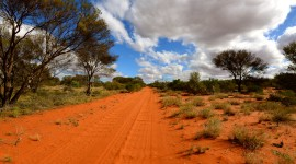 Deserts In Australia Wallpaper Background