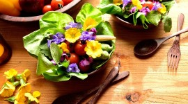 Food From Flowers Wallpaper Gallery