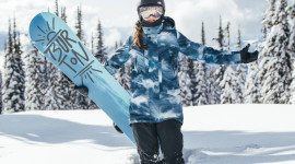Girl Snowboard Image Download