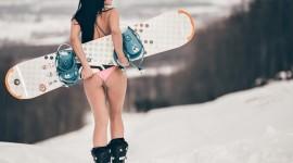 Girl Snowboard Photo Download