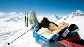 Girl Snowboard Wallpaper 1080p