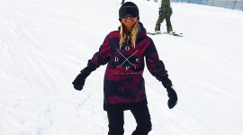 Girl Snowboard Wallpaper For IPhone#1