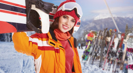 Girl Snowboard Wallpaper For PC