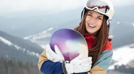 Girl Snowboard Wallpaper Free