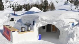 House Of Snow Desktop Wallpaper HD