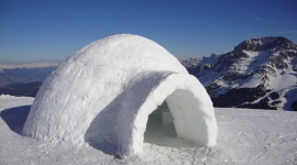 House Of Snow Photo Free