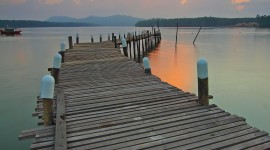 Jetty Wallpaper For IPhone Free