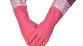 Kitchen Gloves High Quality Wallpaper
