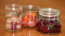 Pickled Vegetables Wallpaper Background