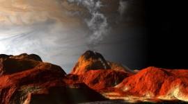 Planet Surface Desktop Wallpaper