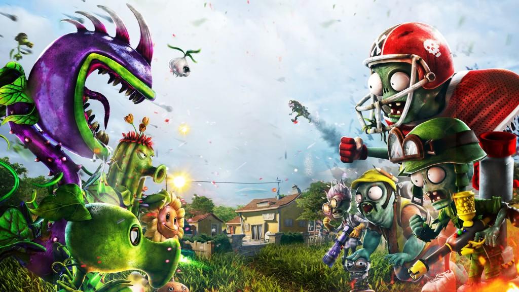Plant Vs Zombie Garden Warfare wallpapers HD