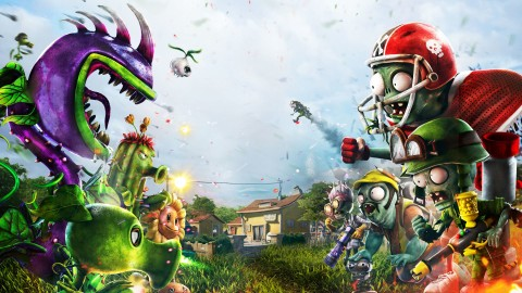 Plant Vs Zombie Garden Warfare wallpapers high quality