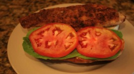 Sandwich With Red Fish Wallpaper Download Free