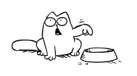 Simon's Cat Wallpaper