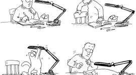 Simon's Cat Wallpaper For Desktop