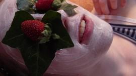 Strawberry Mask Photo
