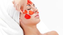 Strawberry Mask Wallpaper