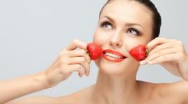 Strawberry Mask Wallpaper HQ