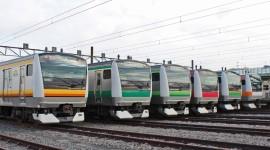 Suburban Electric Train High Quality Wallpaper
