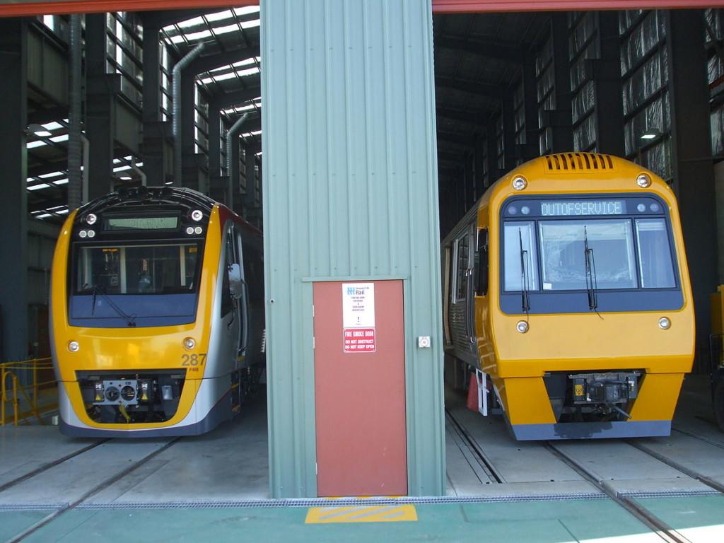 Suburban Electric Train wallpapers HD