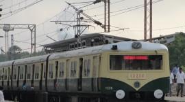 Suburban Electric Train Wallpaper Download Free