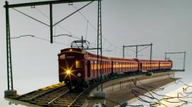 Suburban Electric Train Wallpaper For PC