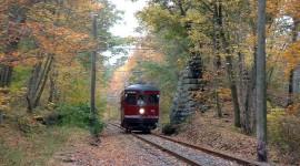 Suburban Electric Train Wallpaper Full HD