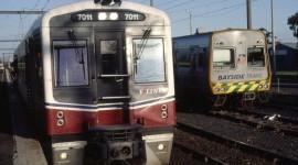 Suburban Electric Train Wallpaper High Definition