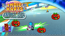 Super Indie Karts Wallpaper For PC