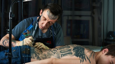 Tattooing Process wallpapers high quality