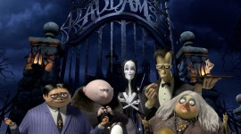 The Addams Family Wallpaper For IPhone