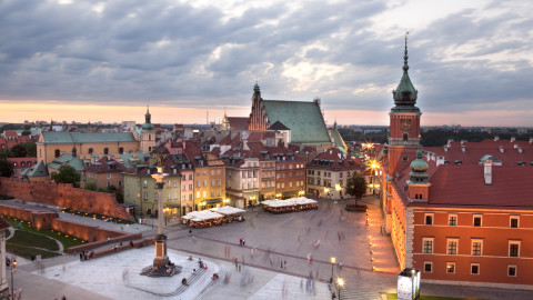 Warsaw Old Town wallpapers high quality